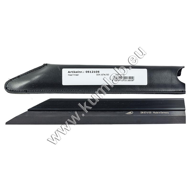 HELIOS-PREISSER 0512104 Haarlineal DIN 874//00 150 mm